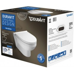 Pack WC suspendu Duravit Rimless® 456209